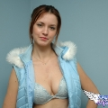 spunkyangels amy in a fur vest 15